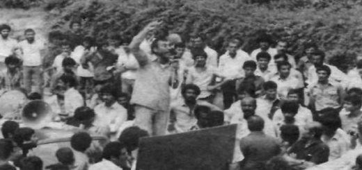 سخنرانی محمد علی ابرندی از بنیان گذاران و رهبران سندیکای کارگران پروه ای آبادن و حومه در روز جهانی کارگر 1358