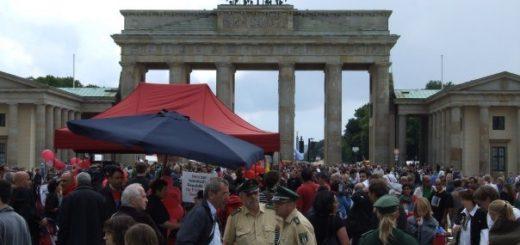 اعتصاب غذای زندانیان سیاسی سابق در برلین، ژوئیه2009