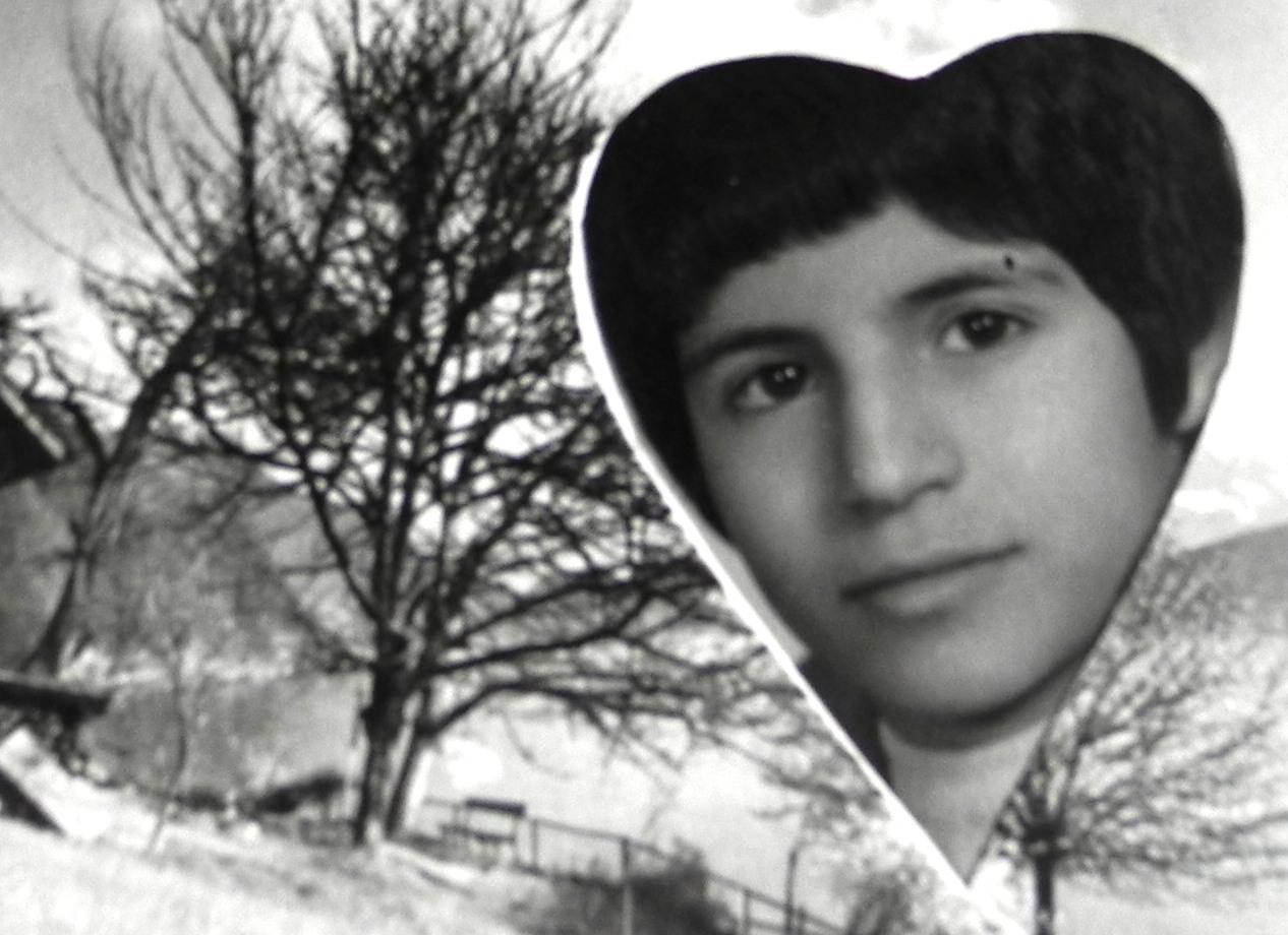 جعفر بیات در ده سالگی