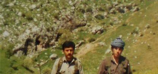 سمت راست: عباد فتحی، مقر راه کارگر