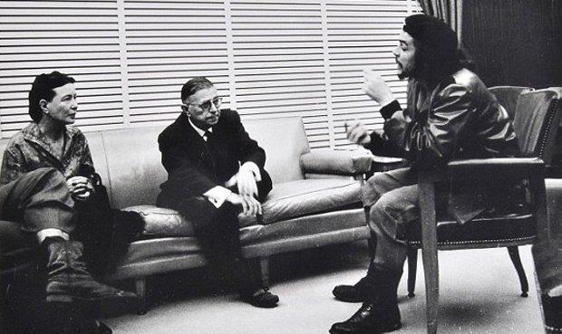 سیمون دوبوار، ژان پل سارتر، چه گوارا