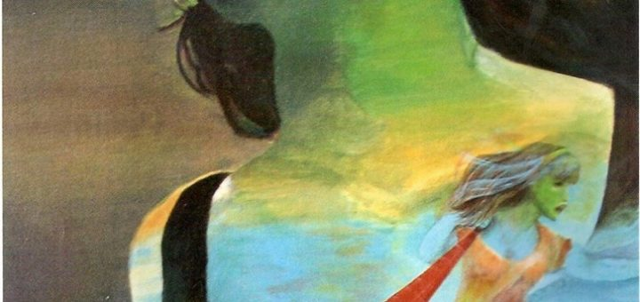 نام اثر : زن ، اثری از فریده برازنده