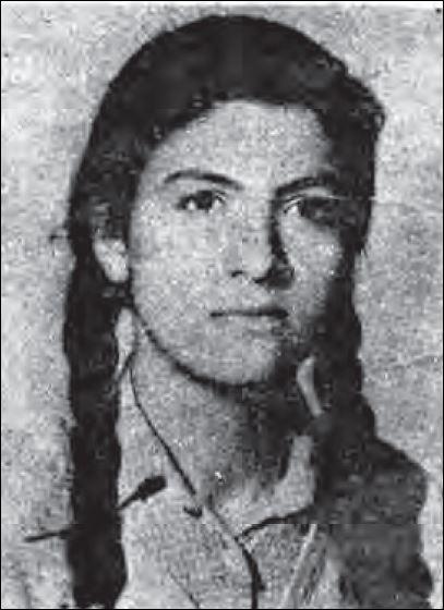 ـ 1 ـ آذر مهرعلیان، ۱۹ ساله