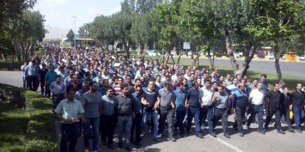 کارگران پولاد اهواز
