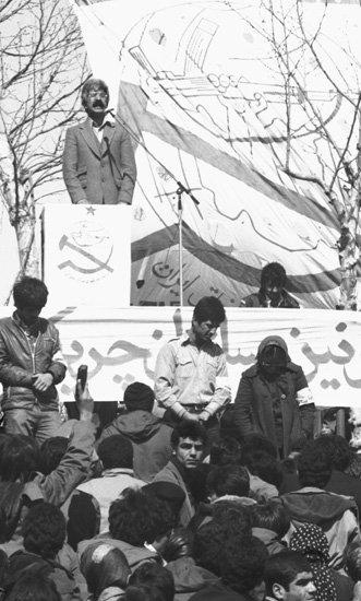 سخنرانی سعید سلطانپور در میدان آزادی تهران، بهار 1359